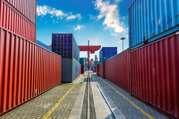 spedizione navale di container