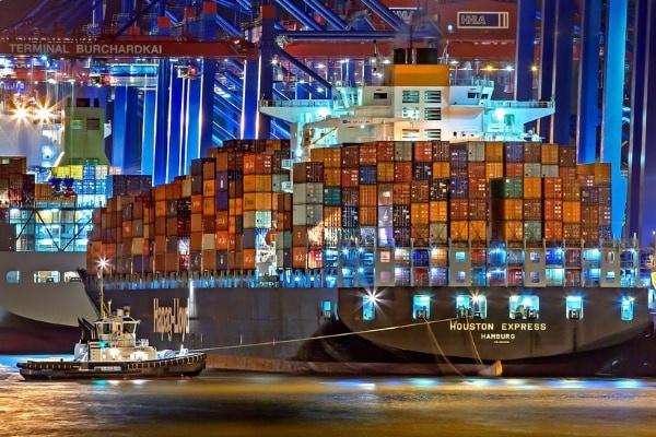 trasporto marittimo di container