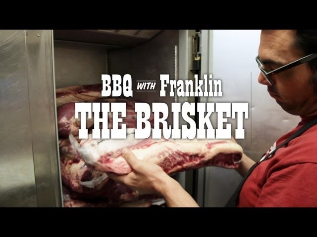 BBQ with Franklin: The Brisket