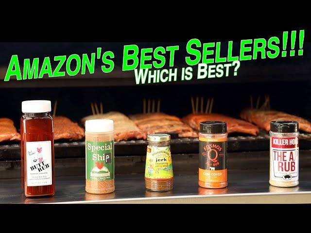 Rib Rub Throwdown | Comparing Top 5 best selling rubs on Amazon