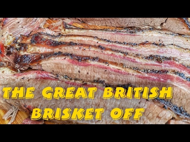 The Great British Brisket Off  - Weber Summit Charcoal vs Kamado Joe Big Joe 3!