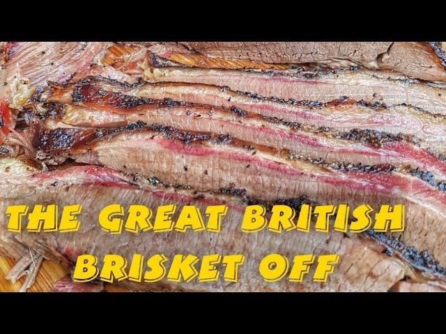 The Great British Brisket Off  - Weber Summit Charcoal vs Kamado Joe Big Joe 3!