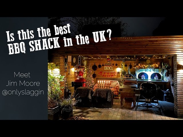 Is This The Best BBQ Shack In The UK? | Onlyslaggin AKA Jim Moore Shows Us His Happy Place