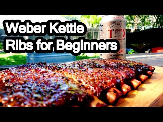 How To Make Ribs on a Charcoal Grill Easy