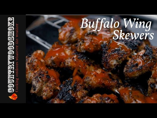 Buffalo Wings on Skewers
