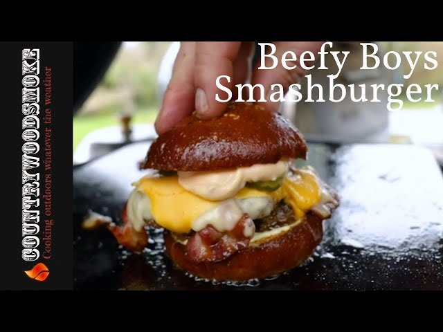 Beefy Boys Smashburger At Home
