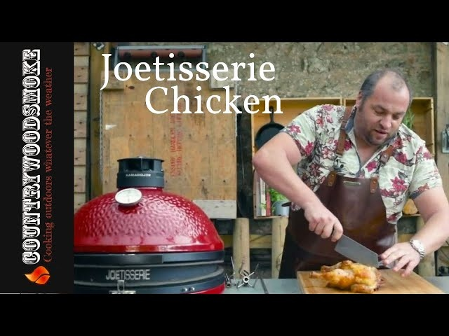 Joetisserie Chicken | Kamado Space | Meater