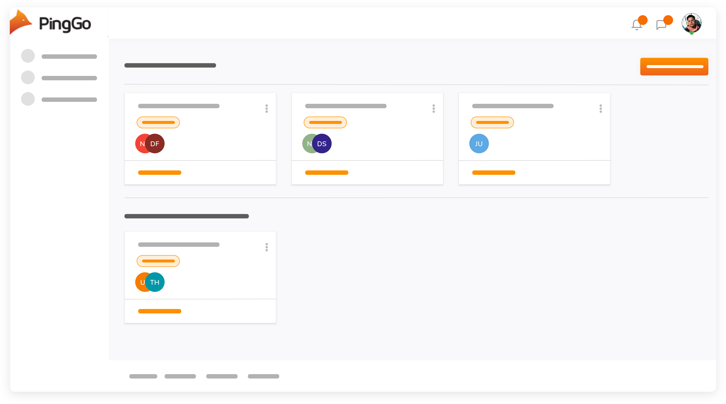 Workspace screenshot example