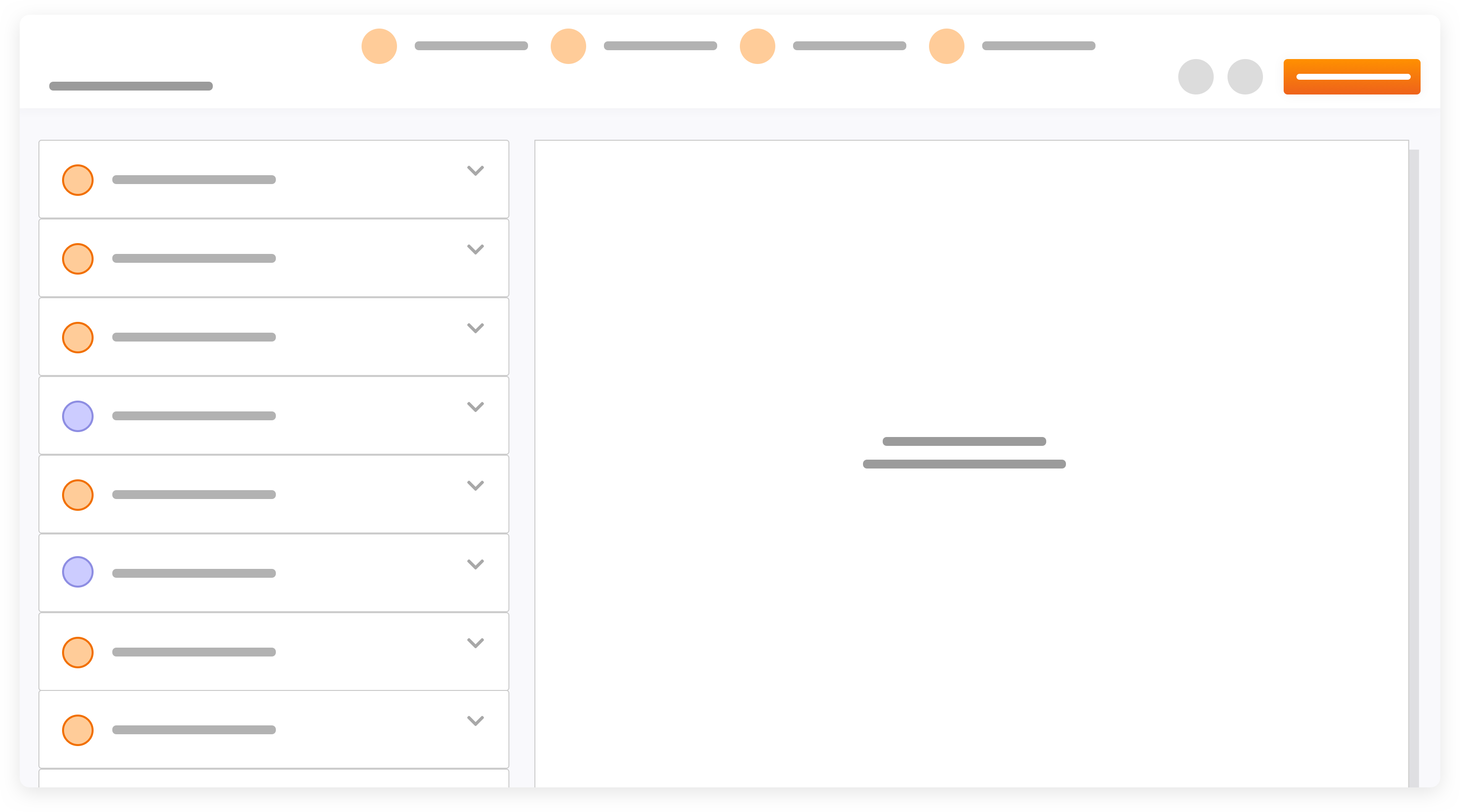 Example user interface for template writing