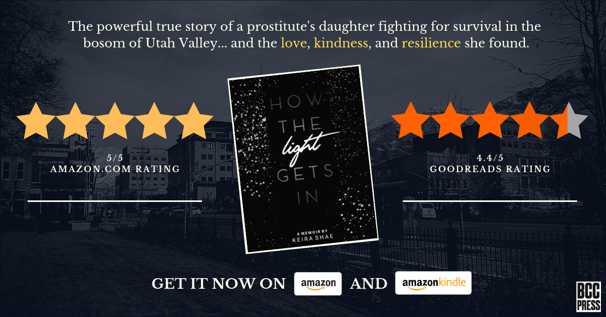 Five-star Reviews for How the Light Gets In by Keira Shae - Available on Amazon and at Local Booksellers