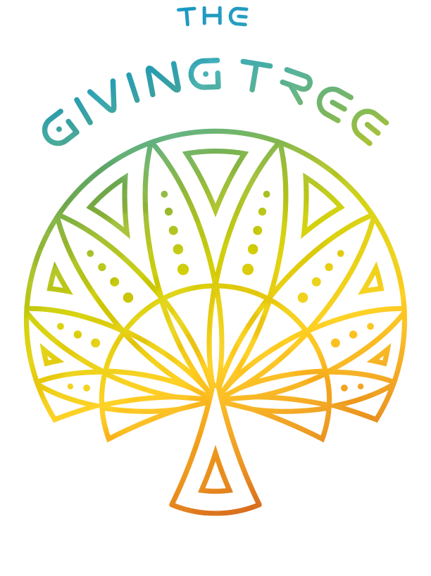 giving tree logo in colour with text