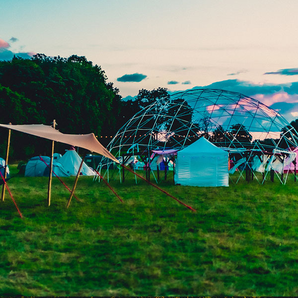 geodome at festival