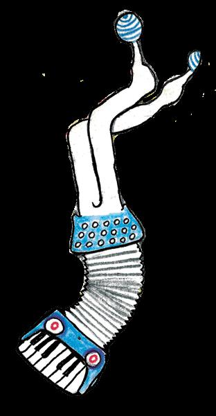 accordion character