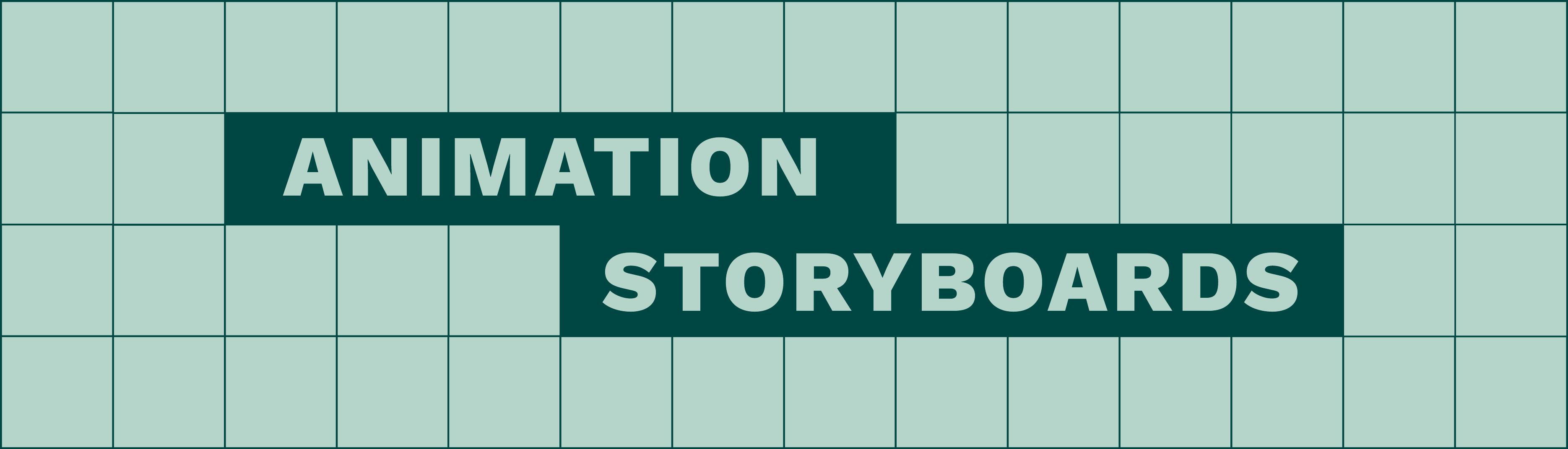 Animation storyboards