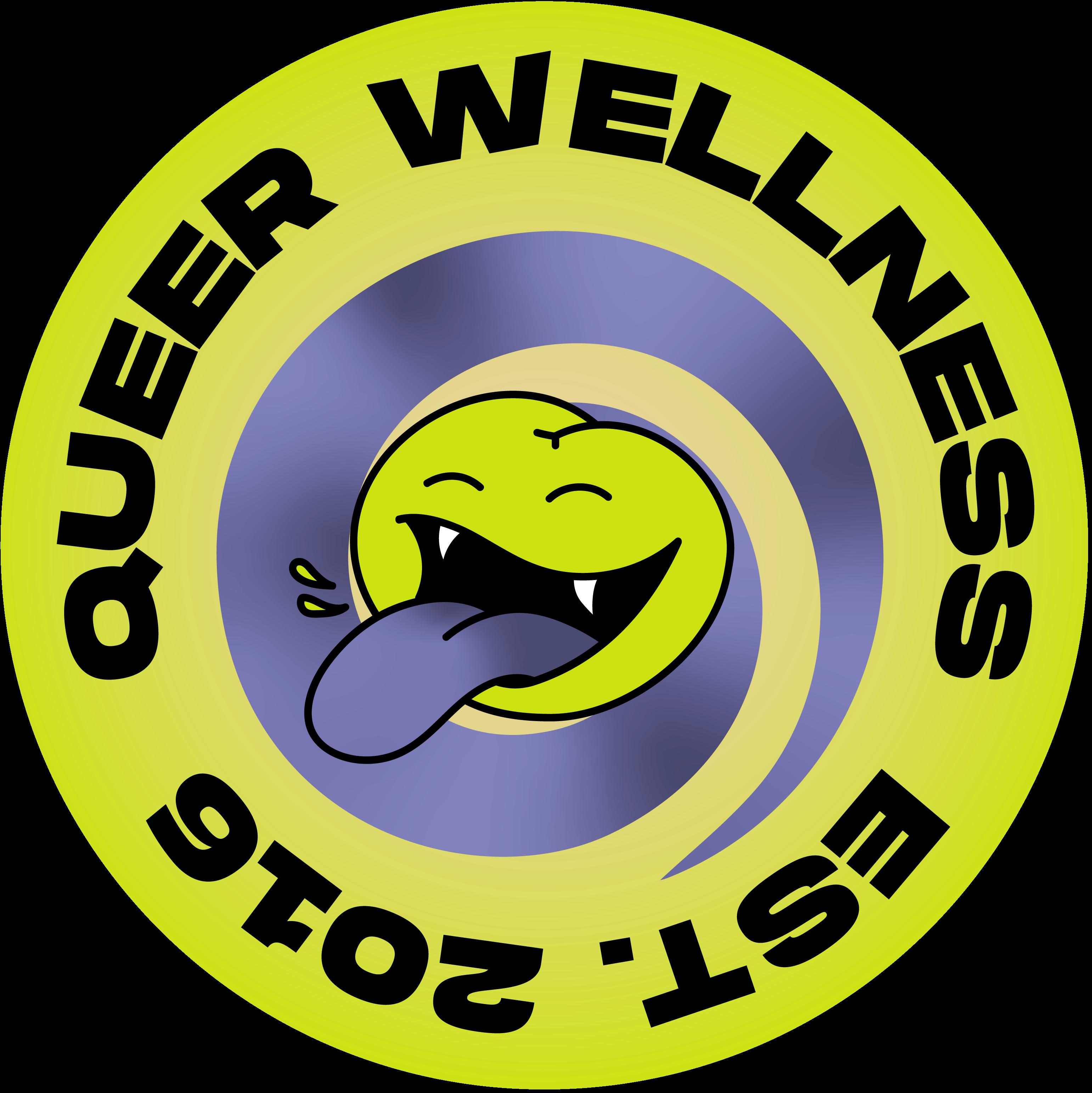 Queer Wellness est. 2016 logo animaition