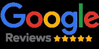 Five star Google Reviews