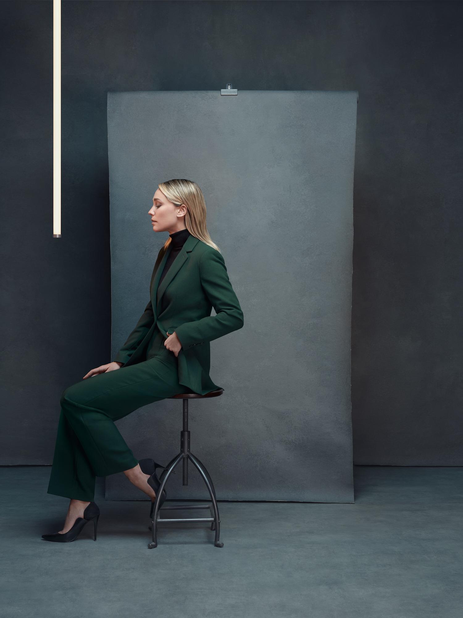 Portrait in studio of Alison Cossenet for Empara