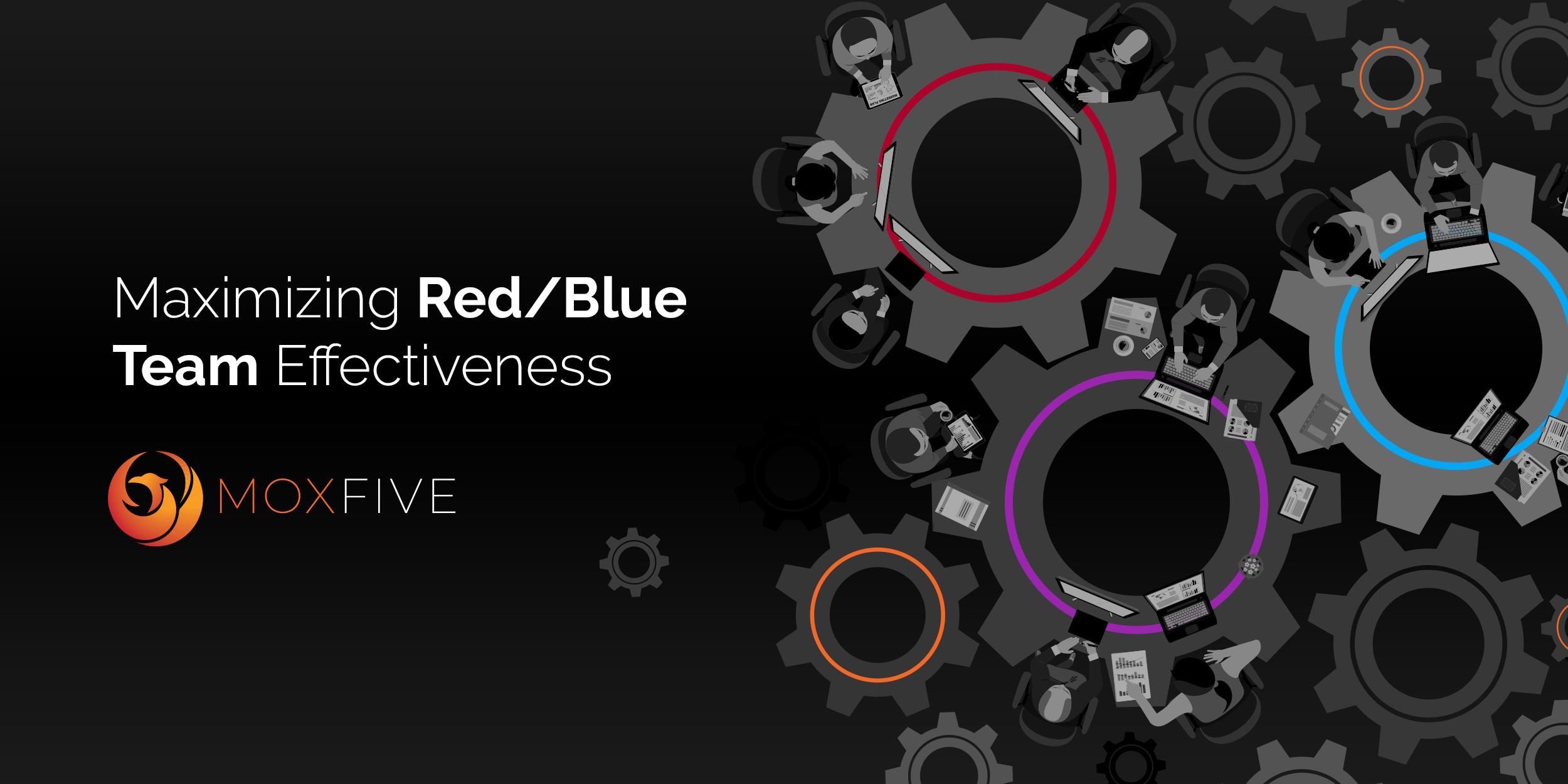 Maximizing Red/Blue Team Effectiveness