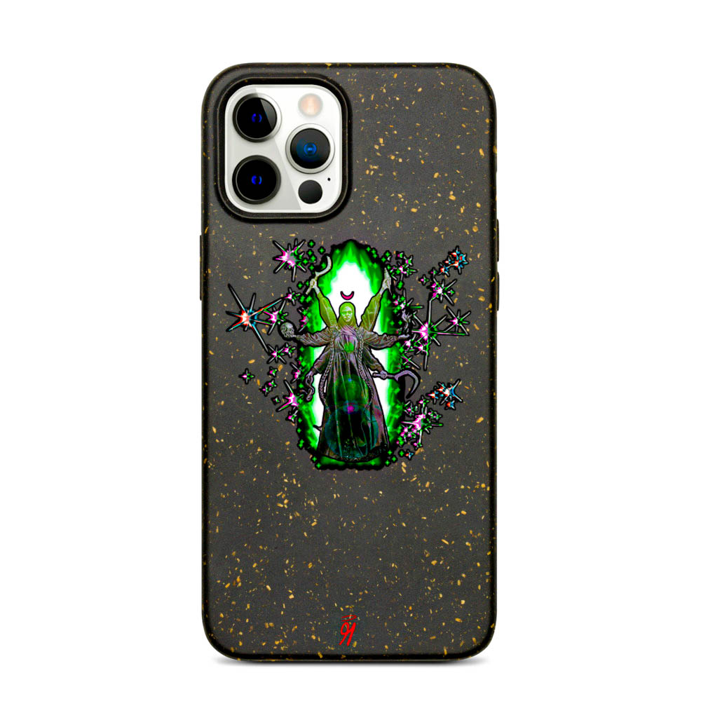 Keep your phone wrapped up and looking stylish — this phone case is eco-friendly and 100% biodegradable. Cover your phone with a unique case to protect it from bumps and scratches in style. British unisex retail house 91 Apparel was originally founded in 1991. We want you to flow with your magic all the time. • Art. no. 10 • 100% biodegradable material • Anti-shock protection • Decomposes in ~1 year • 91 APPAREL logo • Beautiful colors and bold design • Materials ethically sourced from Spain