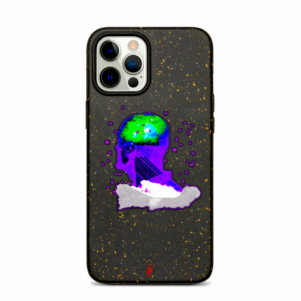 Keep your phone wrapped up and looking stylish — this phone case is eco-friendly and 100% biodegradable. Cover your phone with a unique case to protect it from bumps and scratches in style. British unisex retail house 91 Apparel was originally founded in 1991. We want you to flow with your magic all the time. • Art. no. 18 • 100% biodegradable material • Anti-shock protection • Decomposes in ~1 year • 91 APPAREL logo • Beautiful colors and bold design • Materials ethically sourced from Spain