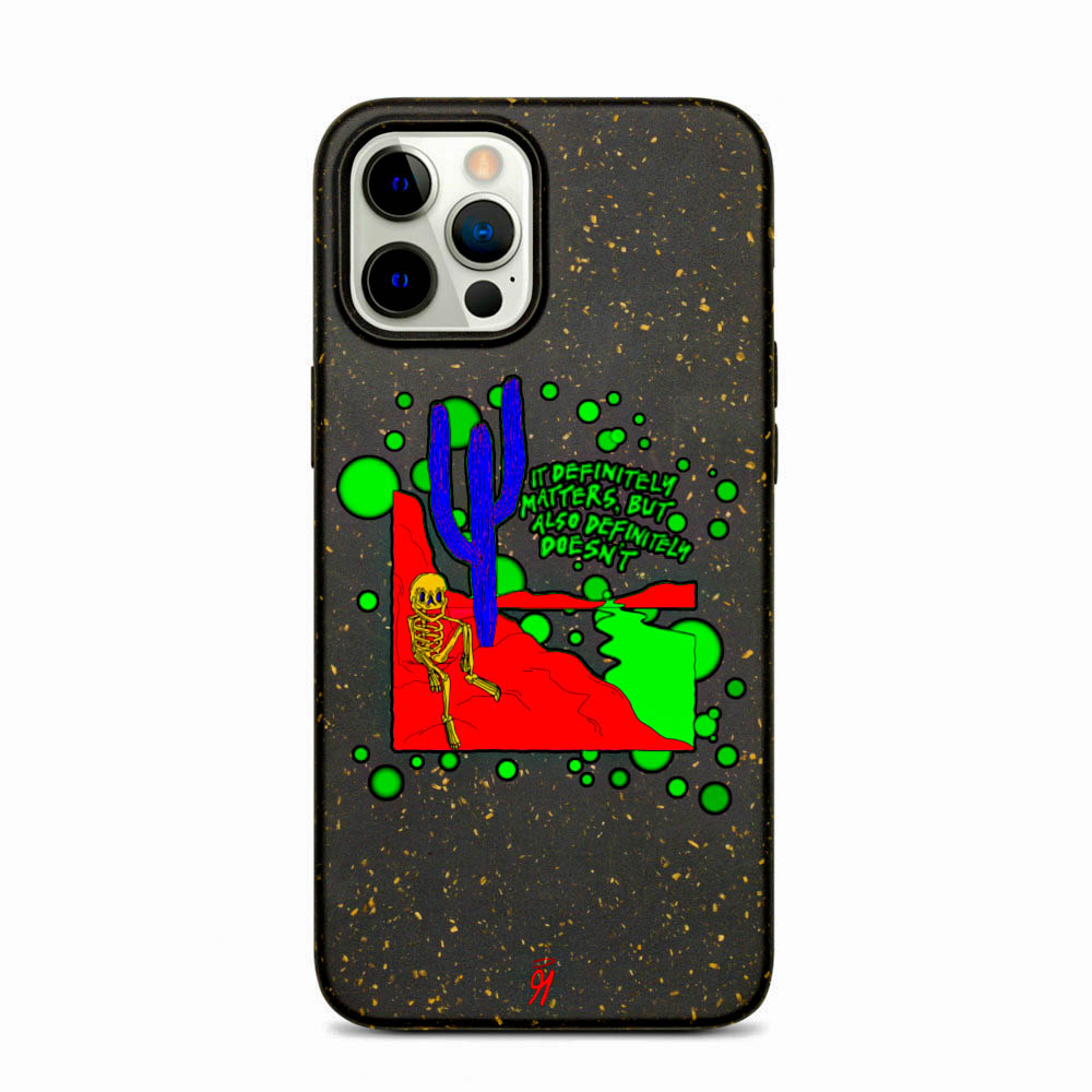 Keep your phone wrapped up and looking stylish — this phone case is eco-friendly and 100% biodegradable. Cover your phone with a unique case to protect it from bumps and scratches in style. British unisex retail house 91 Apparel was originally founded in 1991. We want you to flow with your magic all the time. • Art. no. 21 • 100% biodegradable material • Anti-shock protection • Decomposes in ~1 year • 91 APPAREL logo • Beautiful colors and bold design • Materials ethically sourced from Spain
