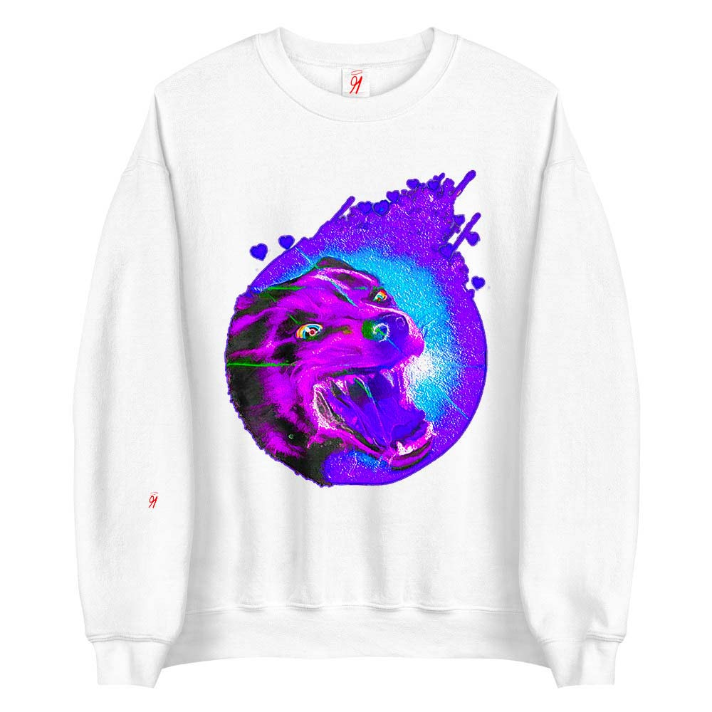 This beautifully crafted warm sweatshirt is bound to keep you cosy in the cooler months and breezy in the warm weather with specially designed fabrics that allow your skin to breath. British unisex retail house 91 Apparel was originally founded in 1991. We want you to flow with your magic all the time. • Art. no. 17 • Loungewear • Machine wash inside out • 50% cotton, 50% polyester • Double-needle stitched • Materials ethically sourced from Nicaragua • 91 APPAREL logo • Beautiful colors and bold design • Materials ethically sourced from Spain