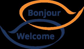 Bonjour Welcome logo