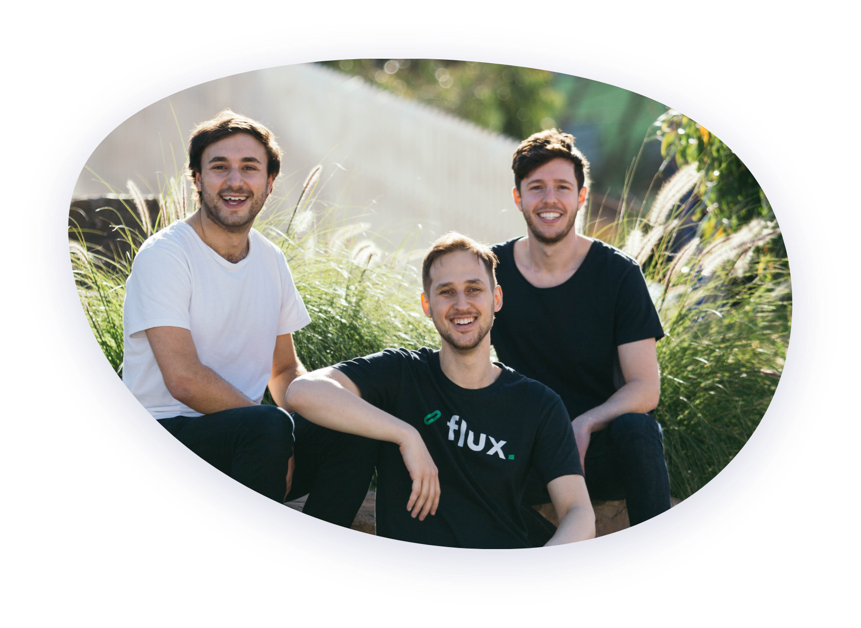 Image of Flux founders: Justin, Brett and Gus