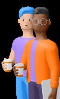 Illustration deux personnes