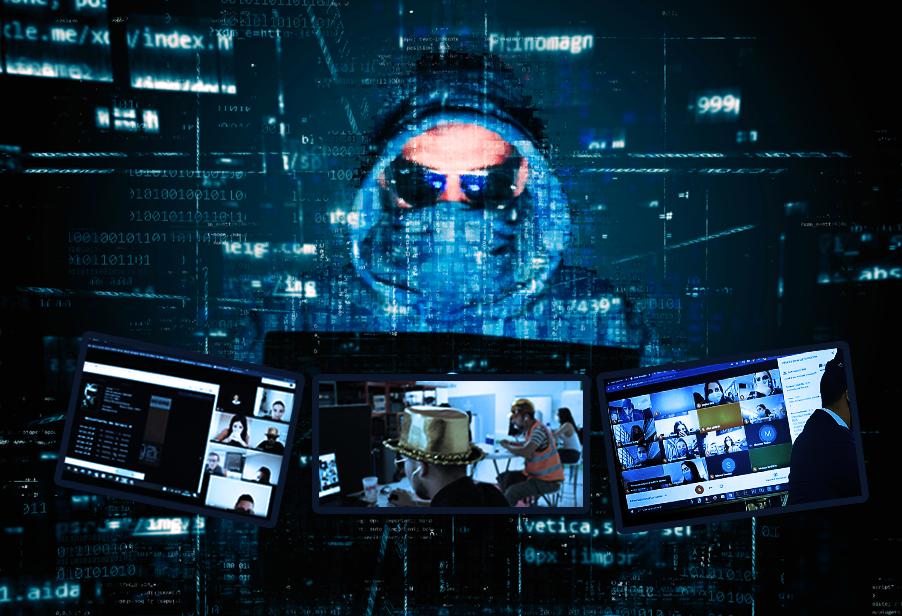 le hacker fait un escape game en visio