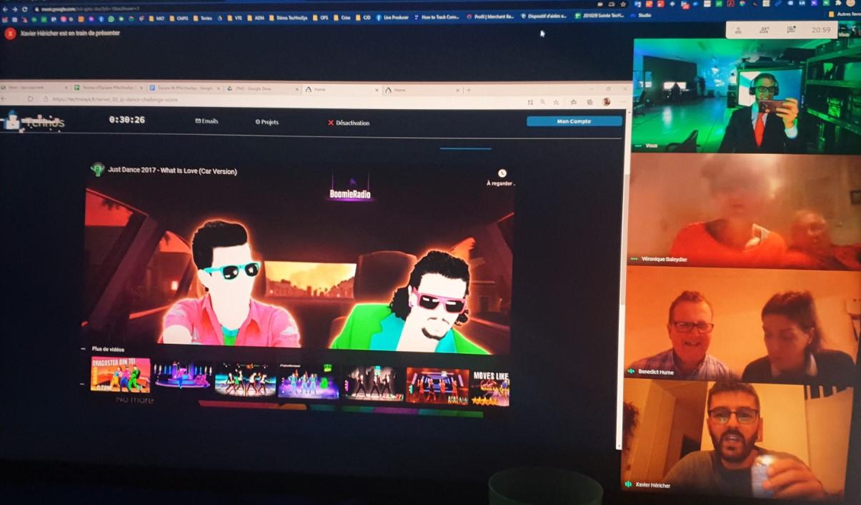 screenshot écran de jeu