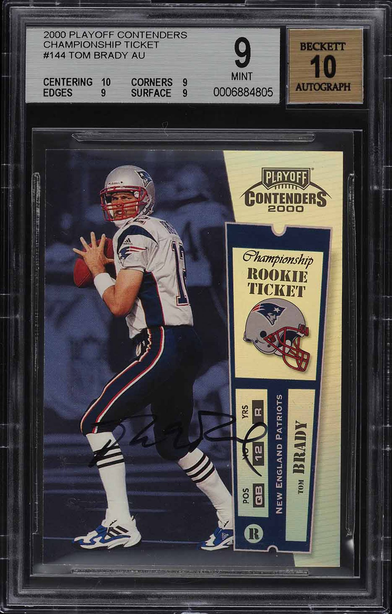Tom Brady Rookie Card Makes History, Sells for More Than $400,000 in  Auction | PEOPLE.com