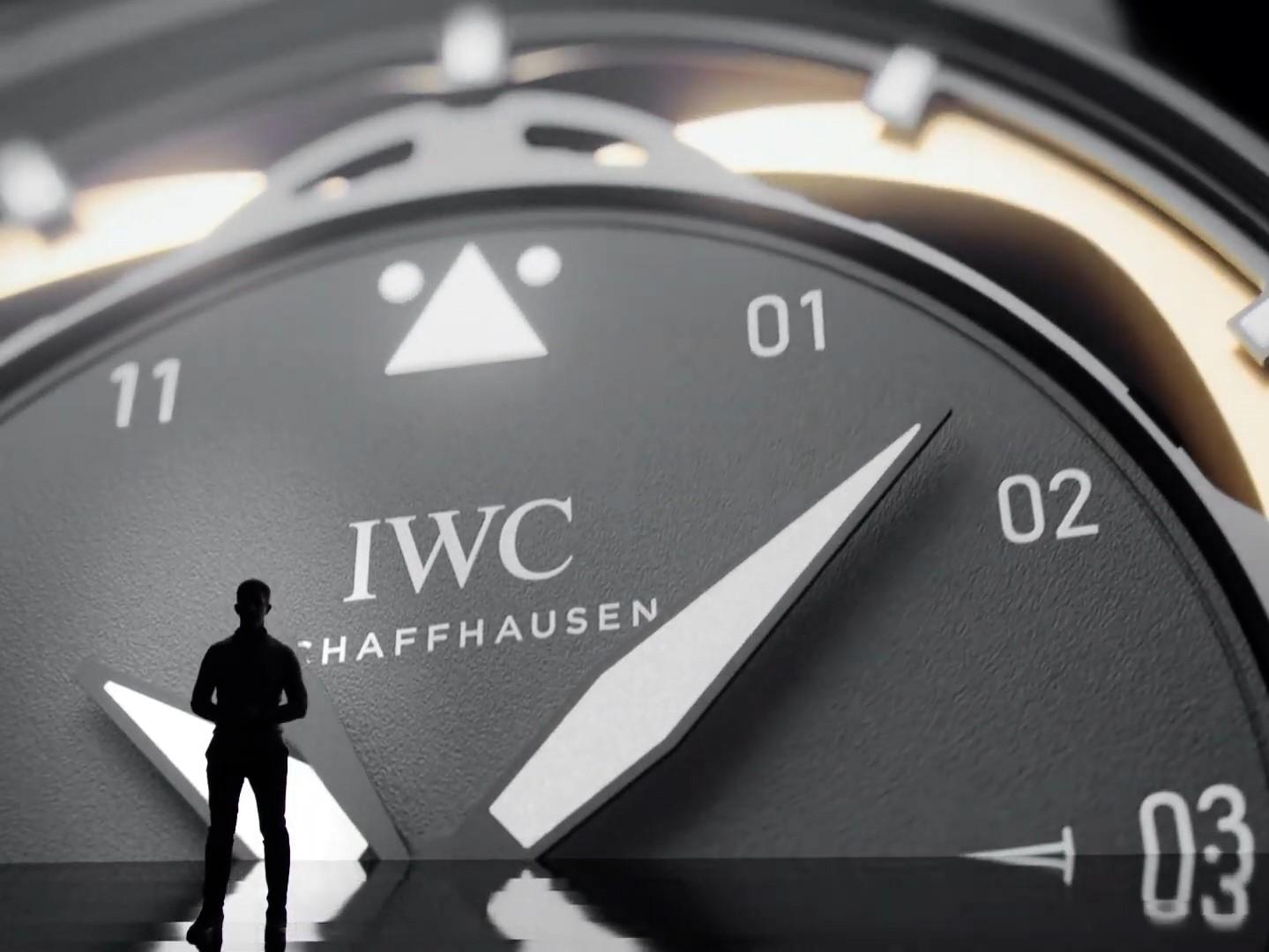 IWC CEO Chris Grainger-Herr in the LEDcave PRO