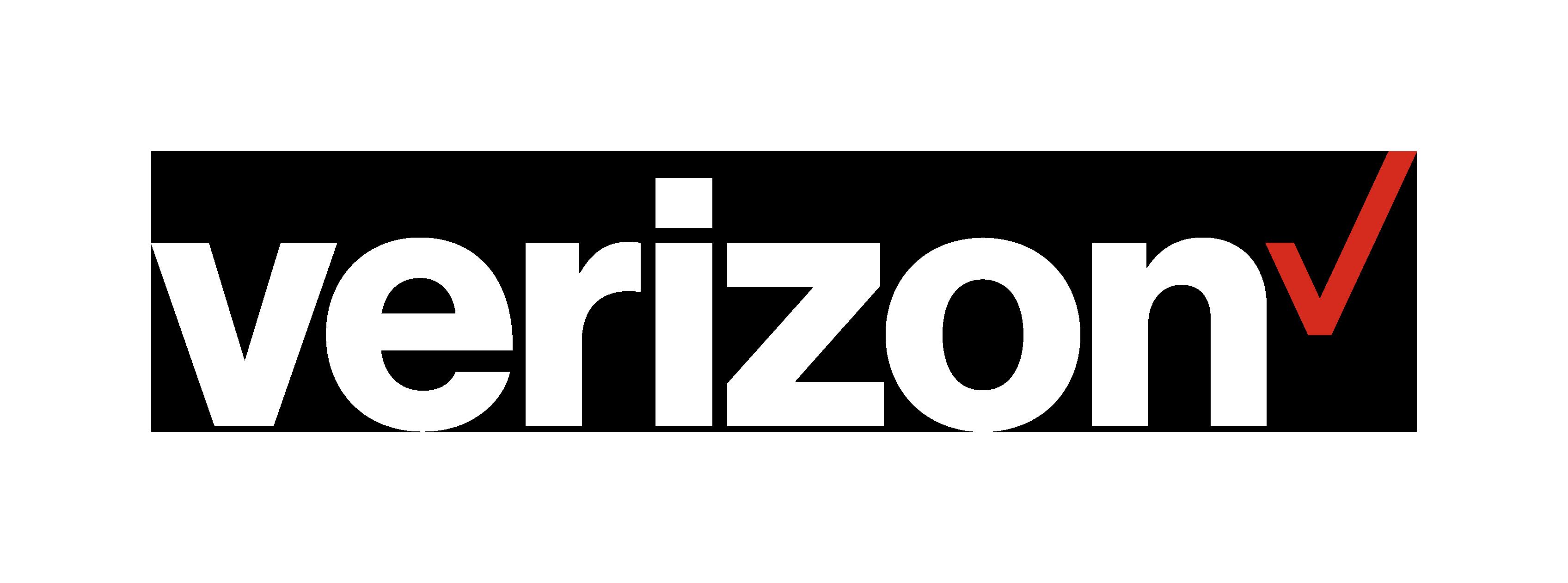 Verizon Logo (White)