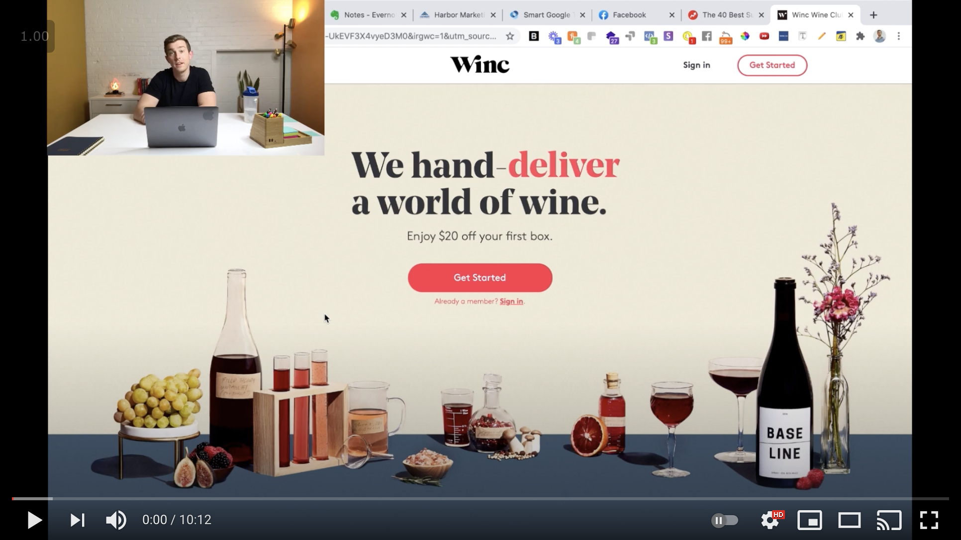 Are you struggling to convert website visitors into new subscribers? It can be easy to get frustrated with a conversion rate that's not where you want it. But there are many ways to optimize your website so that you can craft a better user experience and ultimately generate more sales for your subscription box. In this video, Steve dives into an in-depth audit of Winc.com, a popular wine subscription box.