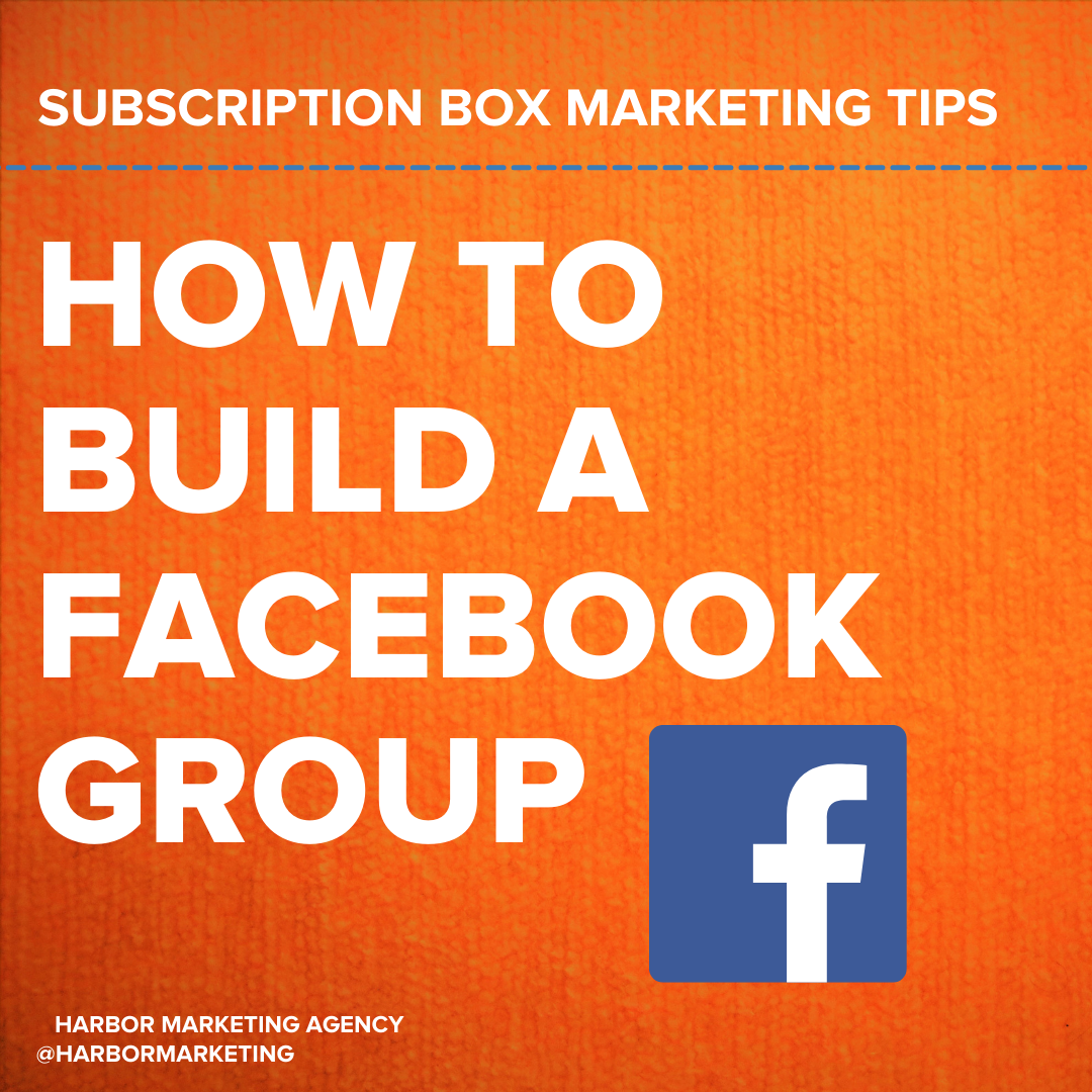 I believe that one of the secrets to subscription box success is to build a thriving Facebook Group. A Facebook Community will actually create a sales channel where your customers sell your box FOR you, it will enable you to collect User Generated Content whenever you need it, and it will allow you to gain a DEEP understanding of your customers — how they think, how they speak, what they like & dislike, etc. This means MUCH better copywriting and more conversions.