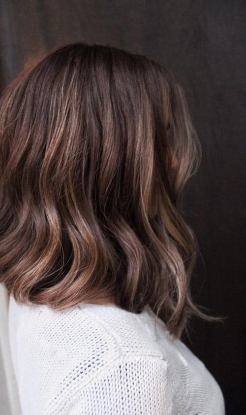 Balayage brunett page