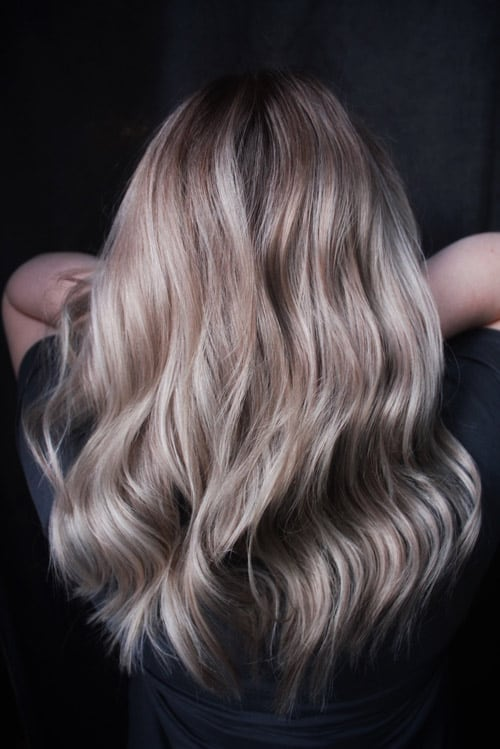 Balayage blondin Cheveux de femme