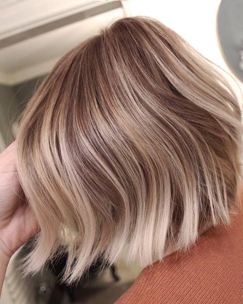 Balayage blond page