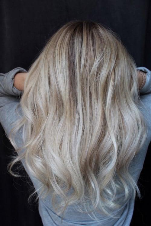 Foilayage Cheveux de femme