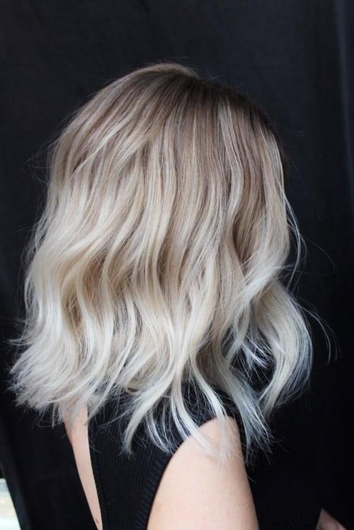 Foilayage blond page
