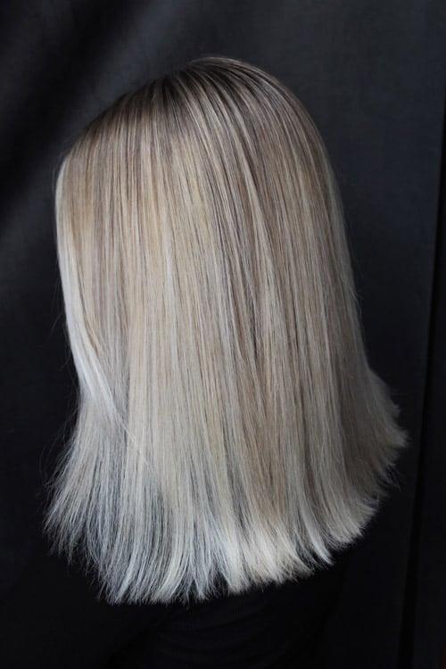 Foilayage kall blondin