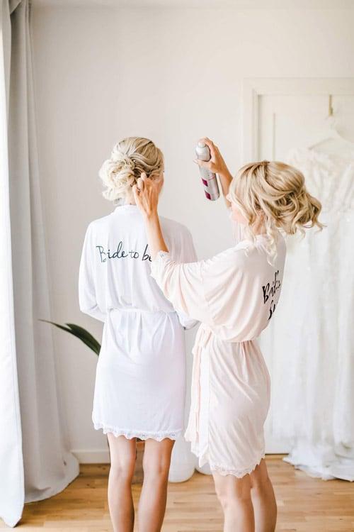 Uppsättning bröllop