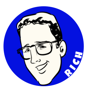 Caricature of Rich Knerr