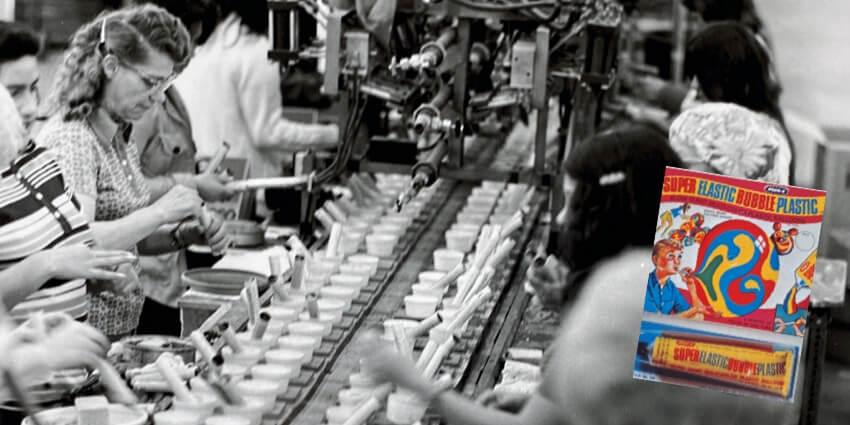 Superelasticbubbleplastic manufacturing