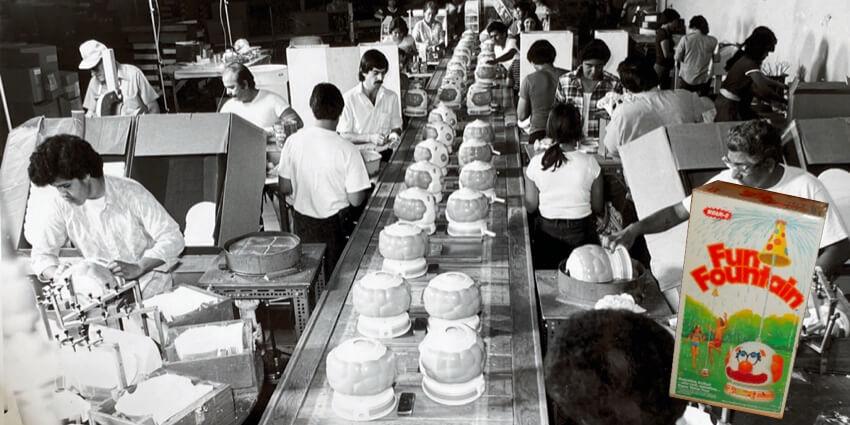 Fun Fountain manufacturing