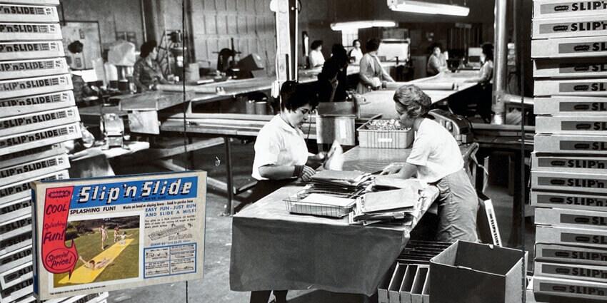 Slip 'N Slide manufacturing