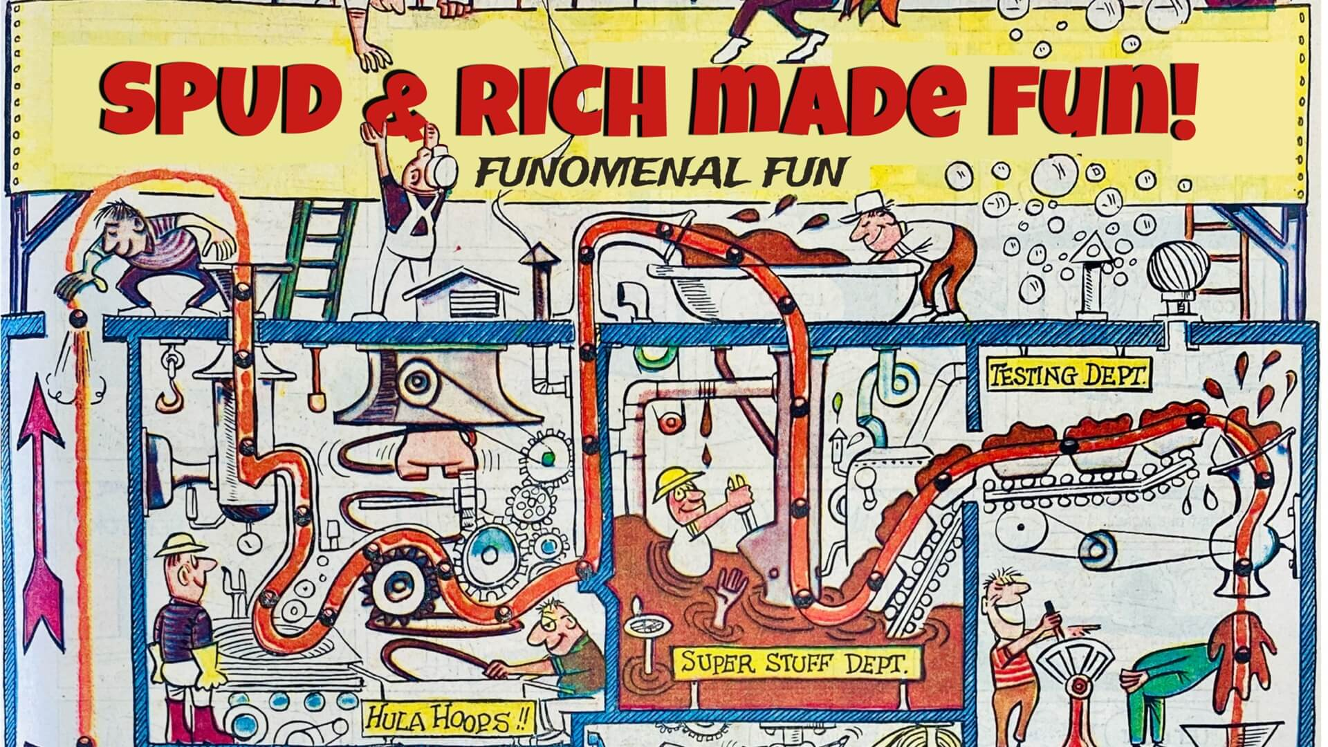 Video animation of 35 Years of Fun from Spud 'n Rich