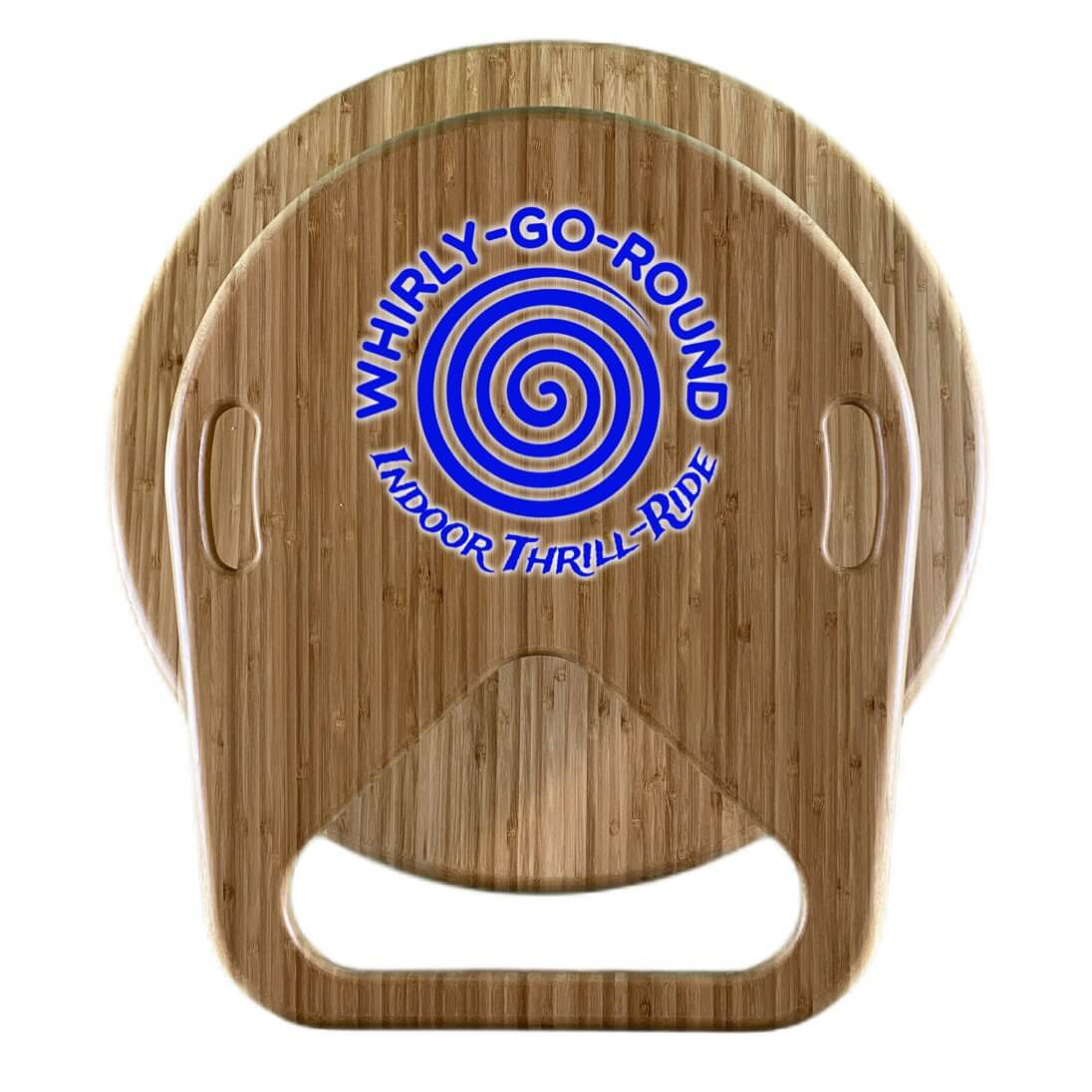 Whirly-Go-Round top view with logo