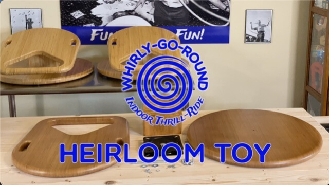 Video that illustrates the build quality and durability of Whirly-Go-Round